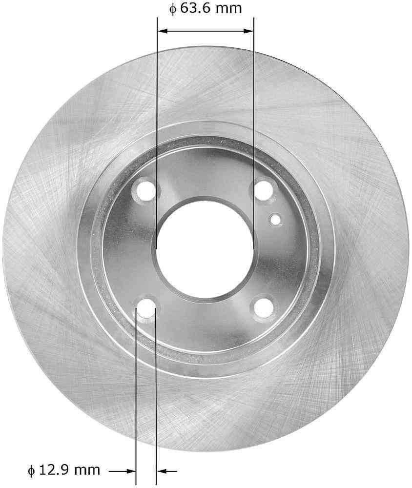 BENDIX - Premium Brake Rotor (Front) - BEN PRT6061