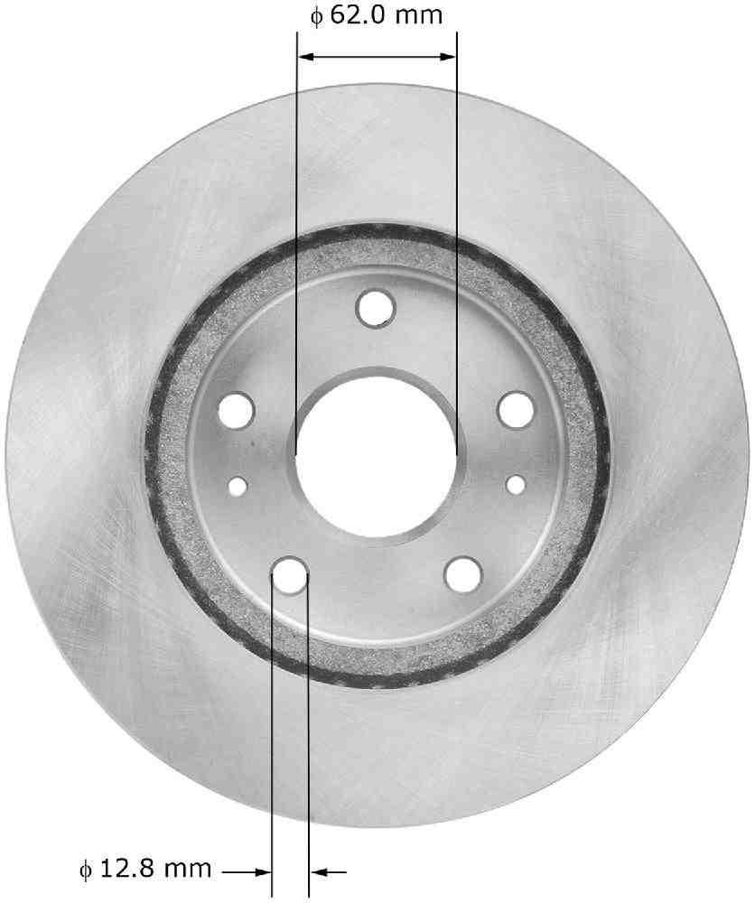 BENDIX - Premium Brake Rotor - BEN PRT6088
