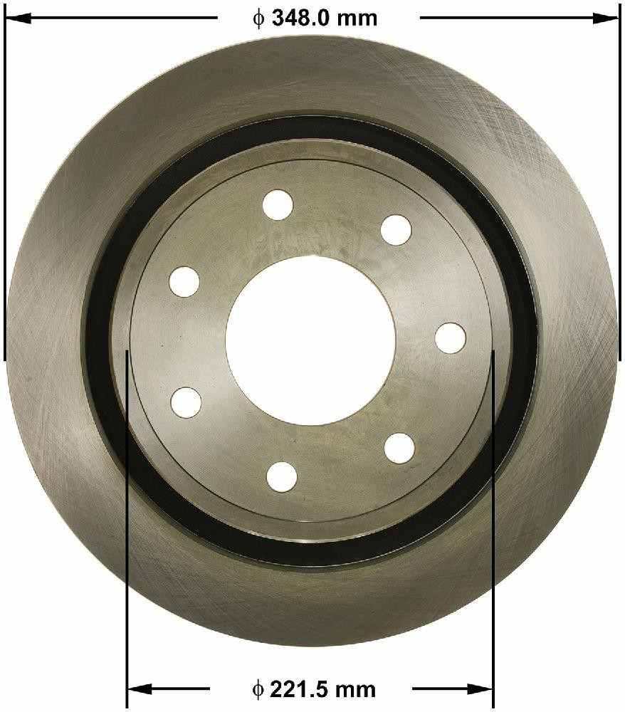 BENDIX - Premium Brake Rotor (Rear) - BEN PRT6178