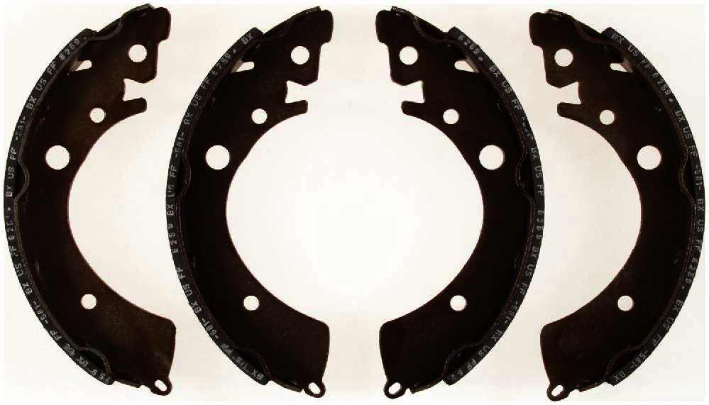 BENDIX - Relined Drum Brake Shoe (Rear) - BEN R545