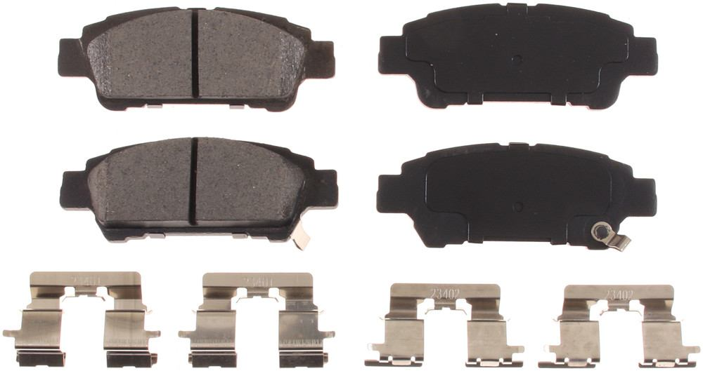 BENDIX - Stop by Honeywell Ceramic Disc Brake Pad (Rear) - BEN SCD995