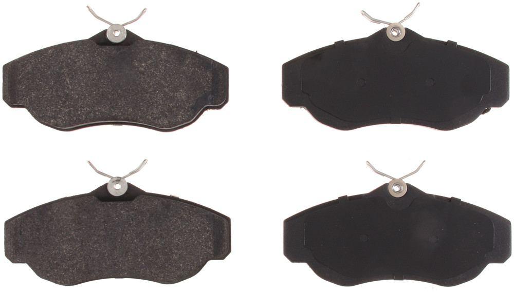 BENDIX - Stop by Honeywell Semi Metallic Disc Brake Pad - BEN SMD676