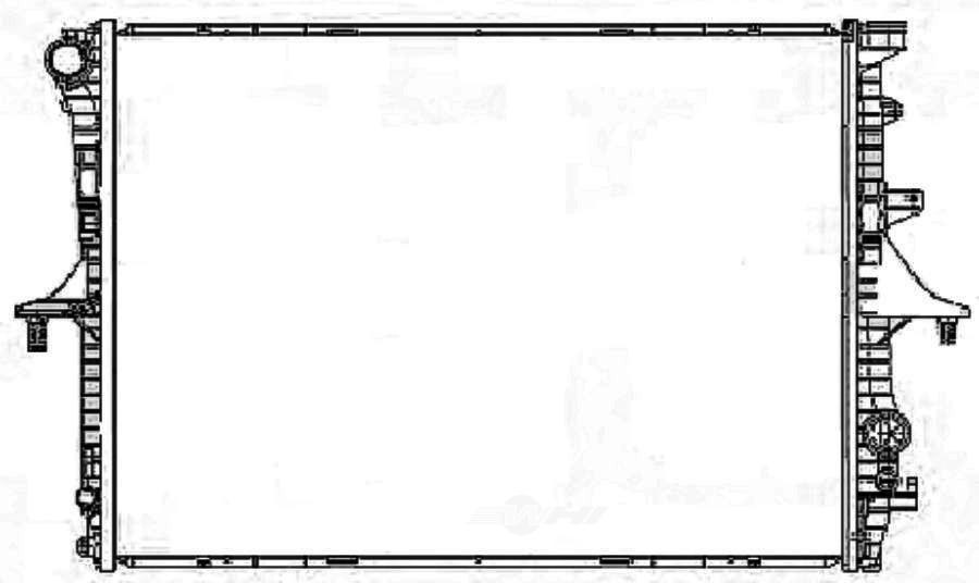 BEHR HELLA SERVICE - New Premium Perfect Fit Radiator - BHS 376719001