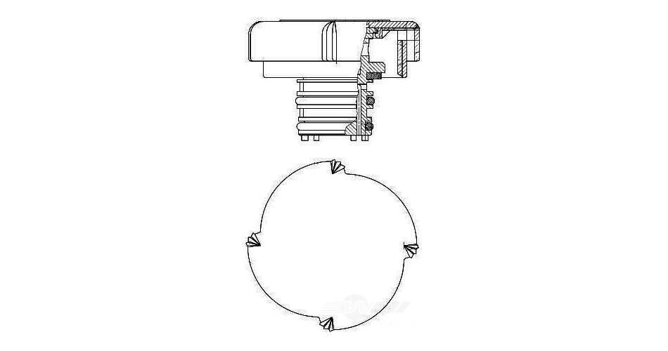 BEHR HELLA SERVICE - Radiator Cap - BHS 376743451