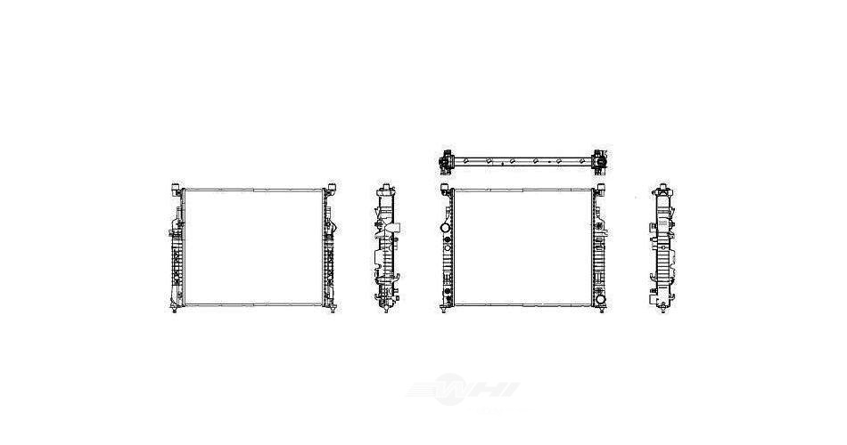 BEHR HELLA SERVICE - New PREMIUM Perfect fit Radiator (Center) - BHS 376781571