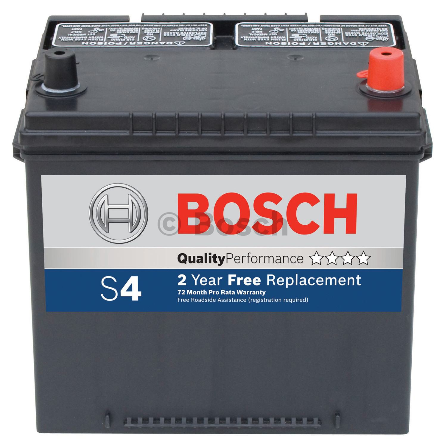 BOSCH - S4-Quality Battery - BOS S4536B