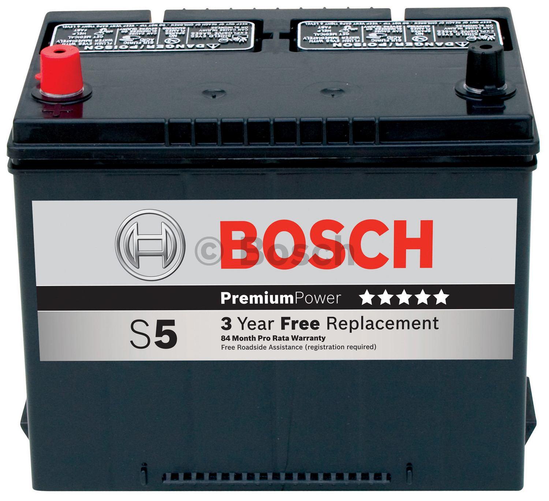 BOSCH - S5-Premium Battery - BOS S5533B