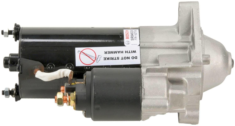 BOSCH - Reman Starter Motor - BOS SR0452X