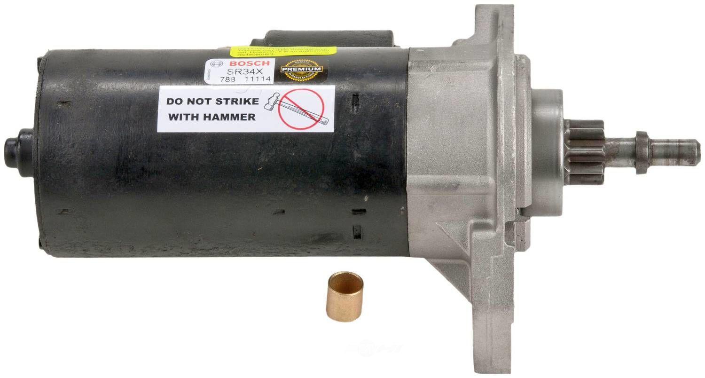 BOSCH - Reman Starter Motor - BOS SR34X