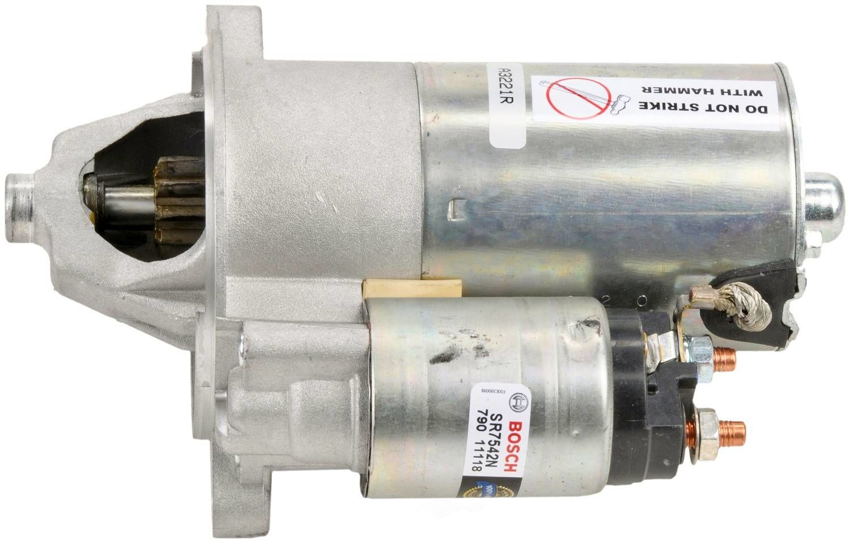 BOSCH - New Starter Motor - BOS SR7542N