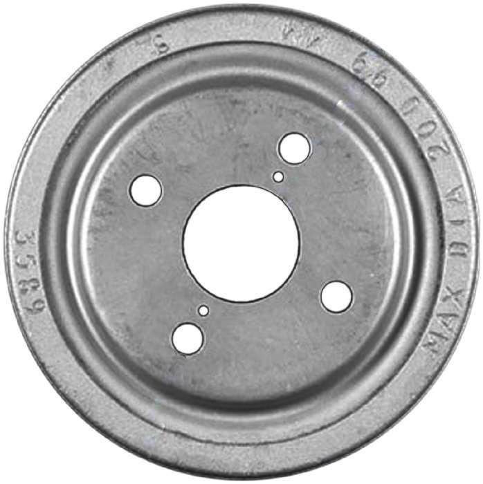 BENDIX PREMIUM DRUM AND ROTOR - Bendix Brake Drum (Rear) - BPD PDR0437