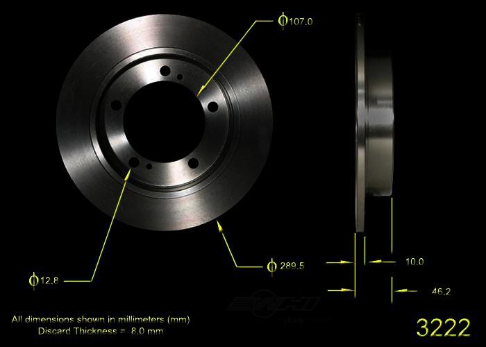 BENDIX PREMIUM DRUM AND ROTOR - Bendix Brake Rotor - BPD PRT1710