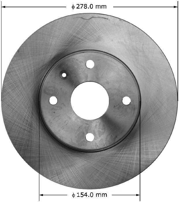 BENDIX PREMIUM DRUM AND ROTOR - Bendix Brake Rotor - BPD PRT6131