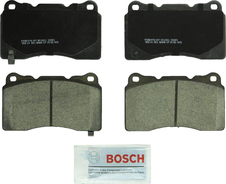 BOSCH BRAKE - Bosch Quietcast Ceramic Pads W/ Hardware - BQC BC1001