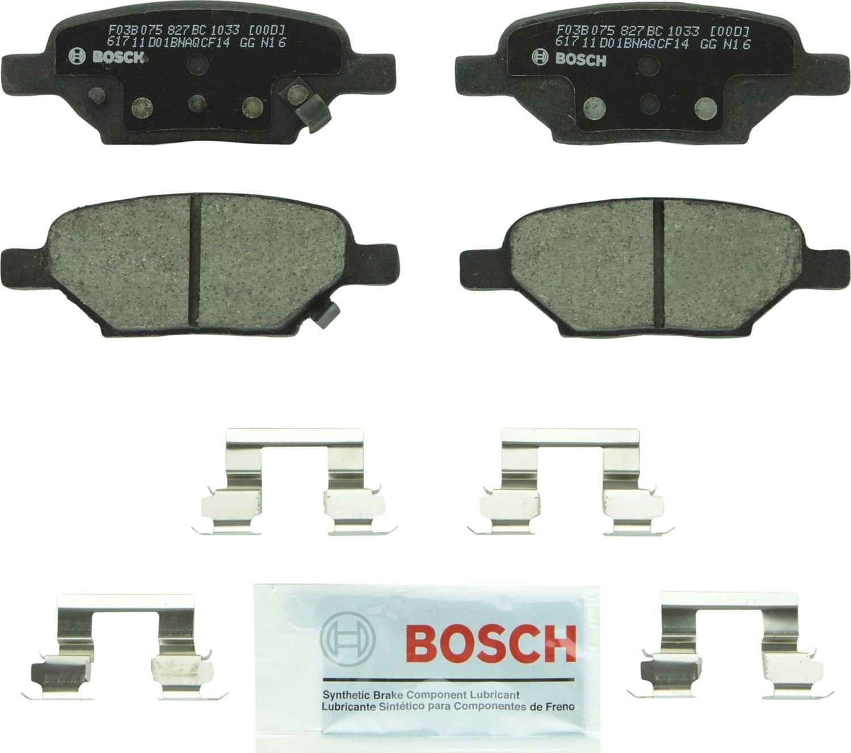 BOSCH BRAKE - Bosch QuietCast Ceramic Pads w/ Hardware (Rear) - BQC BC1033