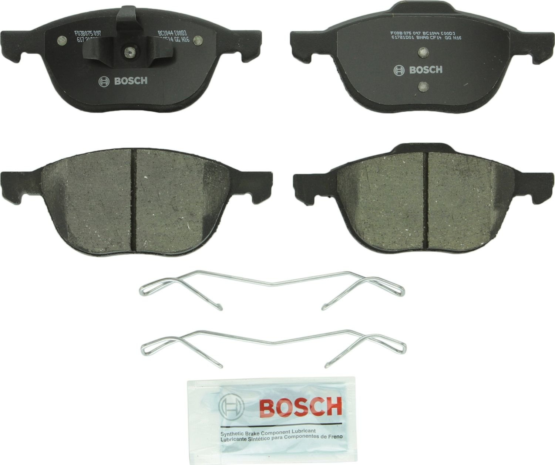 BOSCH BRAKE - Bosch Quietcast Ceramic Pads W/ Hardware (Front) - BQC BC1044