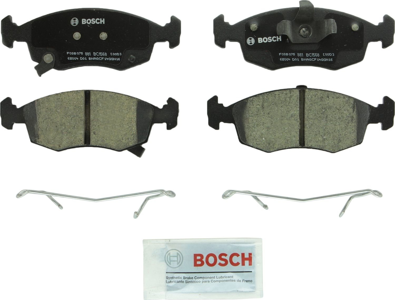 BOSCH BRAKE - Bosch Quietcast Ceramic Pads W/ Hardware (Front) - BQC BC1568
