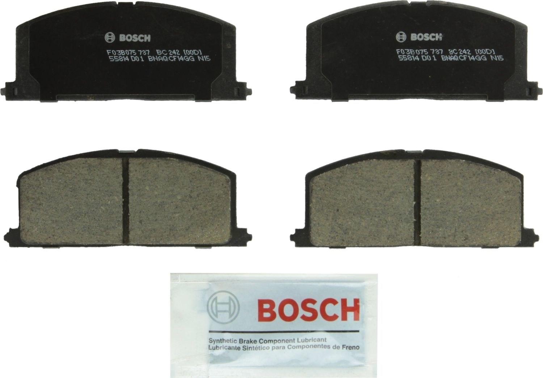 BOSCH BRAKE - Bosch QuietCast Ceramic Pads (Front) - BQC BC242