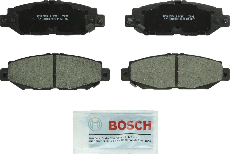 BOSCH BRAKE - Bosch Quietcast Ceramic Pads (Rear) - BQC BC572
