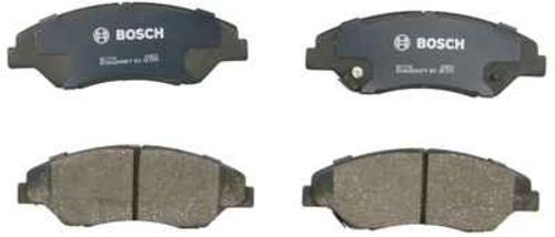 BOSCH BRAKE - Bosch QuietCast Ceramic Pads w/ Hardware (Front) - BQC BC774