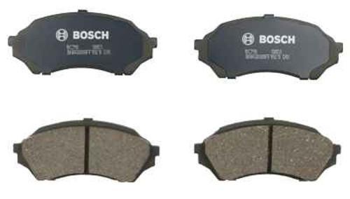 BOSCH BRAKE - Bosch QuietCast Ceramic Pads w/ Hardware (Front) - BQC BC798