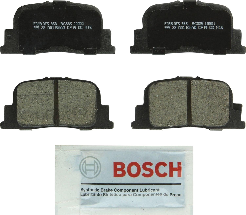 BOSCH BRAKE - Bosch Quietcast Ceramic Pads (Rear) - BQC BC835
