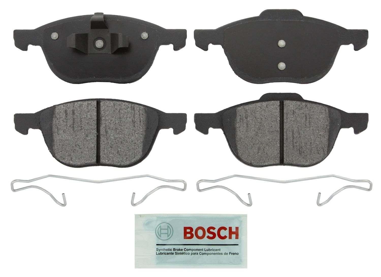 BOSCH BRAKE - Bosch Blue Brake Pads W/ Hardware (Front) - BQC BE1044H