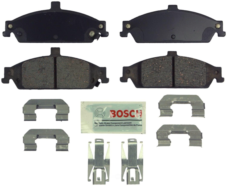 BOSCH BRAKE - Bosch Blue Brake Pads w/ Hardware - BQC BE727H