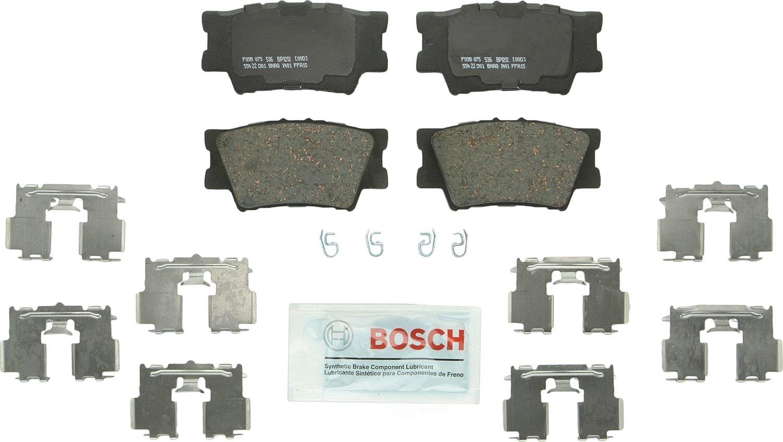 BOSCH BRAKE - Bosch QuietCast Pads w/ Hardware (Rear) - BQC BP1212