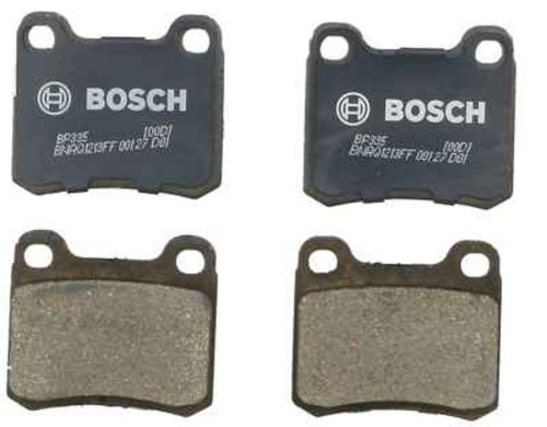 BOSCH BRAKE - Bosch QuietCast Pads (Rear) - BQC BP335
