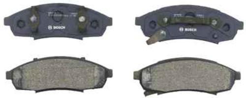 BOSCH BRAKE - Bosch QuietCast Pads w/ Hardware (Front) - BQC BP376