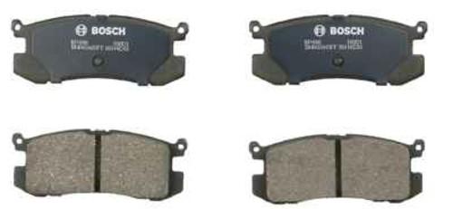 BOSCH BRAKE - Bosch QuietCast Pads w/ Hardware (Rear) - BQC BP400