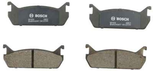 BOSCH BRAKE - Bosch QuietCast Pads w/ Hardware (Rear) - BQC BP458