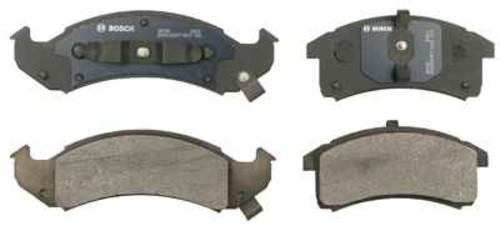 BOSCH BRAKE - Bosch QuietCast Pads w/ Hardware (Front) - BQC BP505