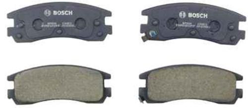 BOSCH BRAKE - Bosch QuietCast Pads w/ Hardware (Rear) - BQC BP508