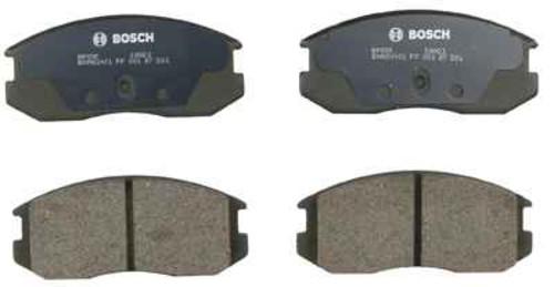 BOSCH BRAKE - Bosch QuietCast Pads w/ Hardware (Front) - BQC BP535