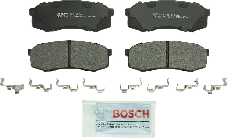 BOSCH BRAKE - Bosch QuietCast Pads w/ Hardware (Rear) - BQC BP606