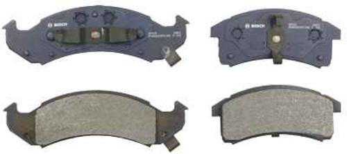 BOSCH BRAKE - Bosch QuietCast Pads w/ Hardware (Front) - BQC BP623
