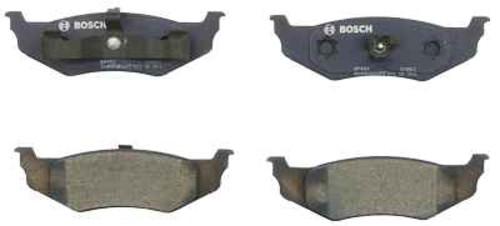 BOSCH BRAKE - Bosch QuietCast Pads w/ Hardware (Rear) - BQC BP658