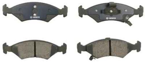 BOSCH BRAKE - Bosch QuietCast Pads w/ Hardware (Front) - BQC BP766