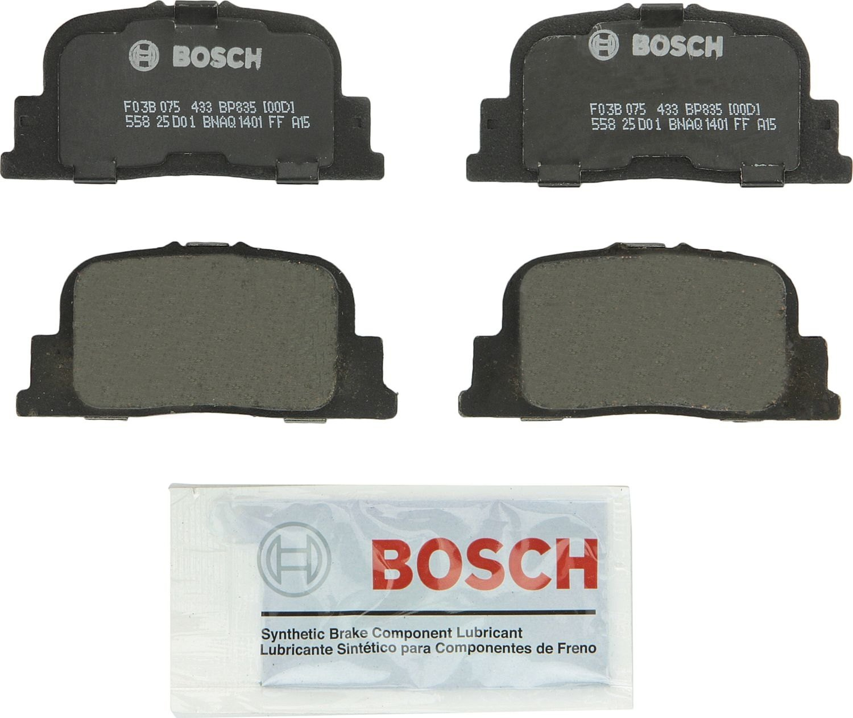 BOSCH BRAKE - Bosch Quietcast Pads (Rear) - BQC BP835
