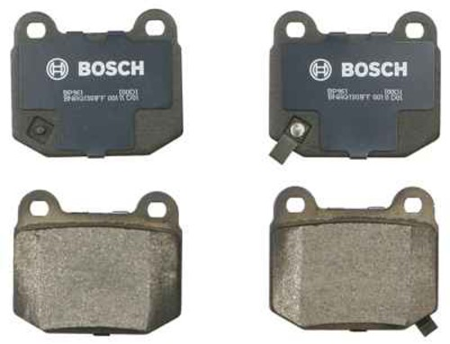 BOSCH BRAKE - Bosch QuietCast Pads (Rear) - BQC BP961