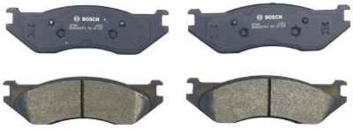 BOSCH BRAKE - Bosch QuietCast Pads w/ Hardware (Front) - BQC BP966