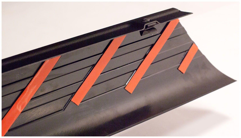 BUSHWACKER - Ultimate DiamondBack(TM) Bed Rail Cap - BWK 29508