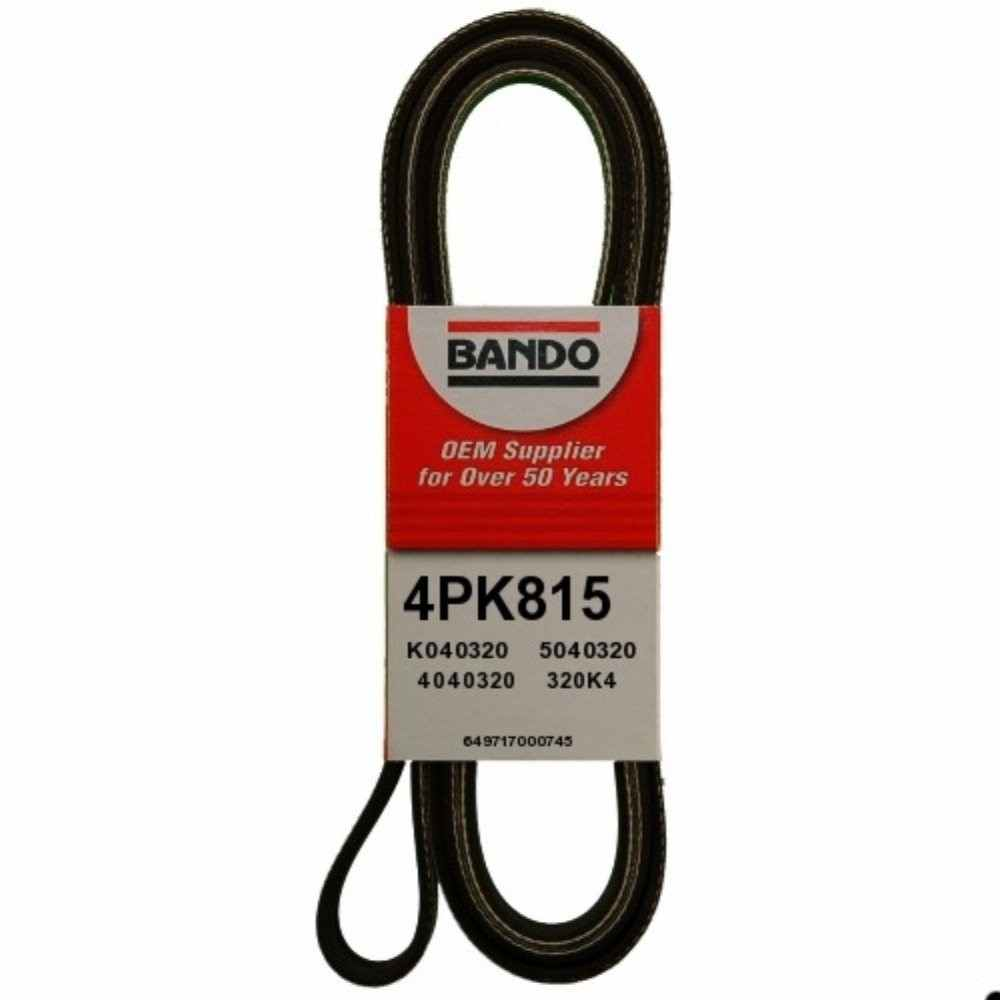 BANDO - Rib Ace Precision Engineered V-Ribbed Belt - BWO 4PK815