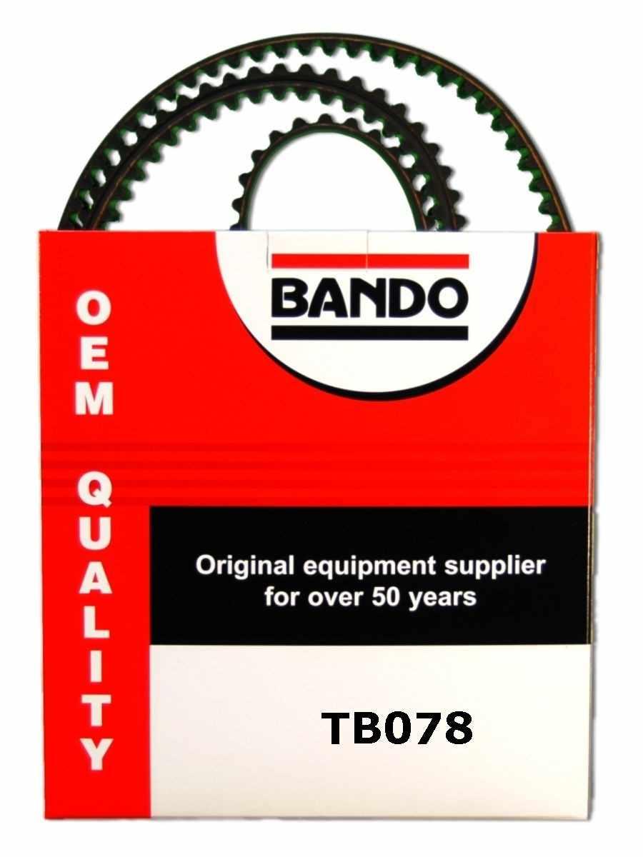 BANDO - OHC Timing Belt Precision Engineered Timing Belt - BWO TB078