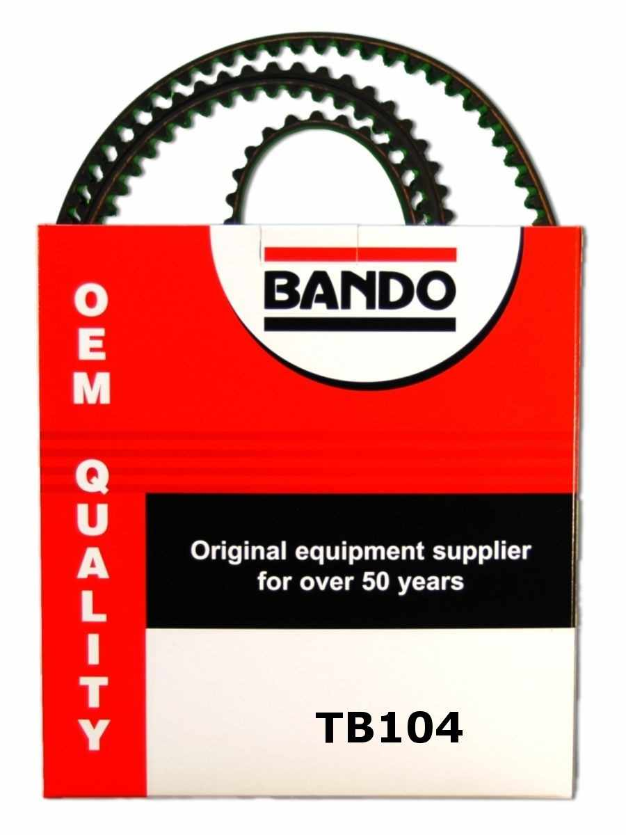 BANDO - OHC Timing Belt Precision Engineered Timing Belt - BWO TB104