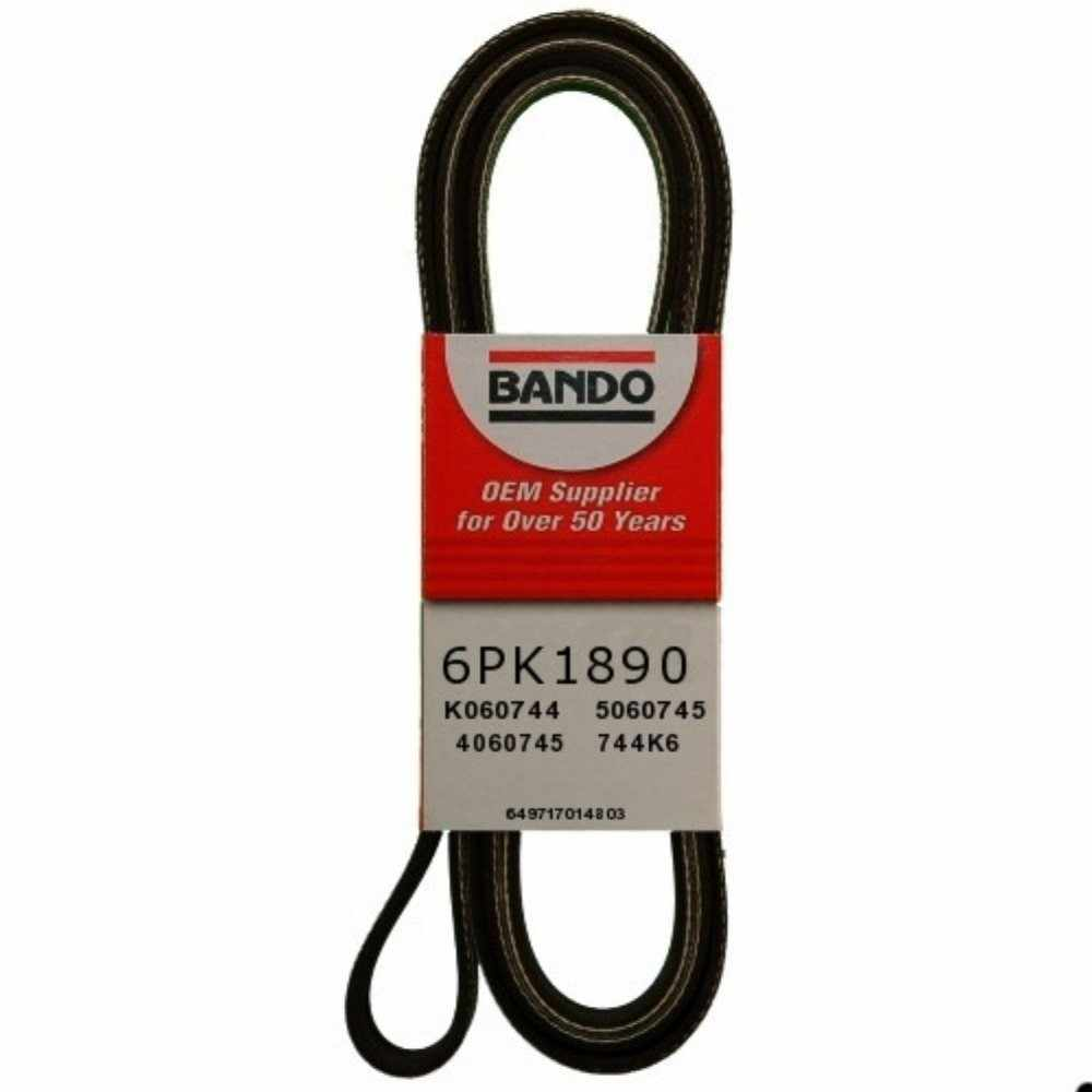 BANDO - Accessory Drive Belt (Accessory Drive) - BWO 6PK1890