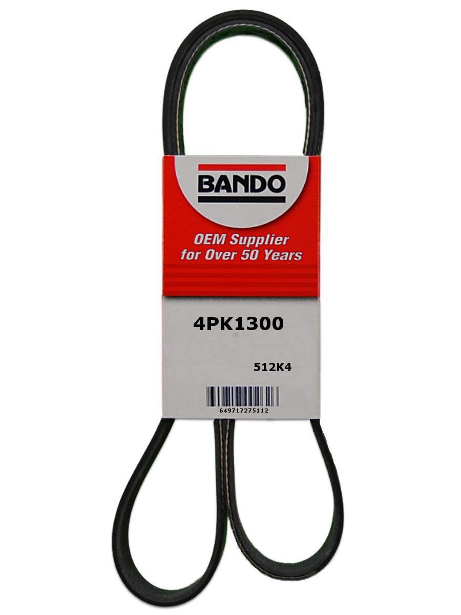 BANDO - Serpentine Belt (Alternator and Water Pump) - BWO 4PK1300