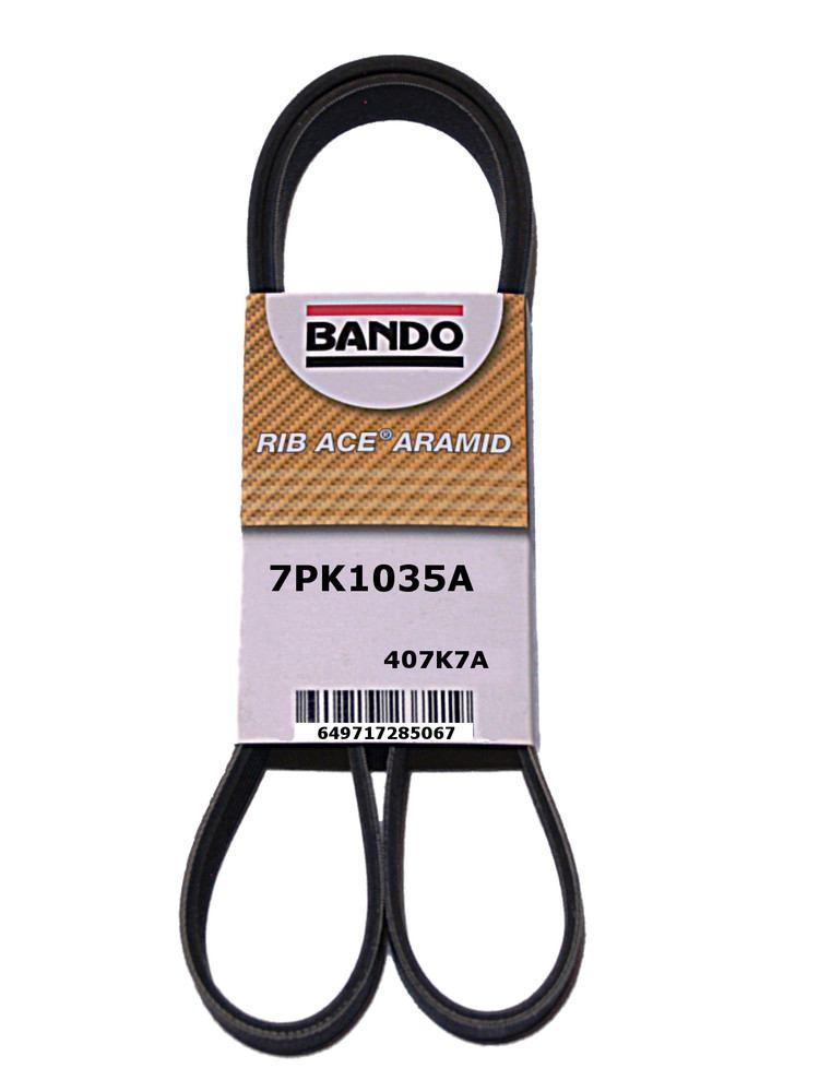 BANDO - Serpentine Belt (Alternator and Compressor) - BWO 7PK1035A